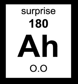 The element of surprise!