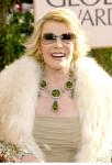 Joan Rivers in 2007 wearing Peridot