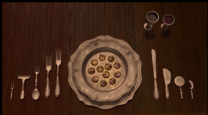 Place setting from Shrek 2